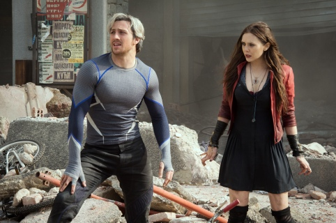 Quicksilver & Scarlet Witch
