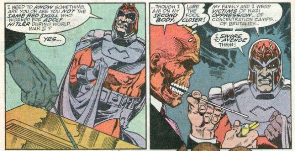 Red Skull & Magneto