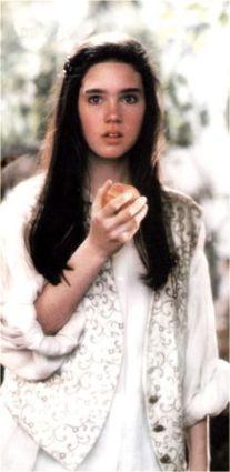 Sarah & the peach