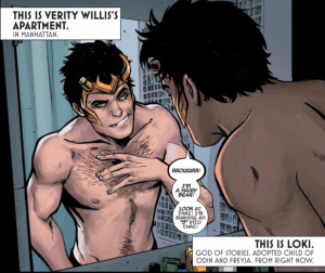 This was the only panel that mattered, tbh.