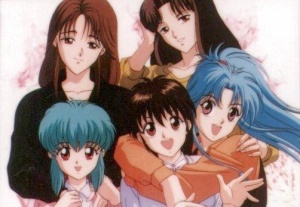 Genkai is in the photo, she's just too short to make it into the frame.