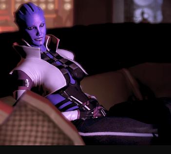 Mass Effect Aria T'Loak