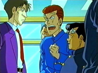 Yu Yu Hakusho Asshole Teacher and Kuwabara