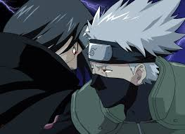 Itachi and Kakashi fight
