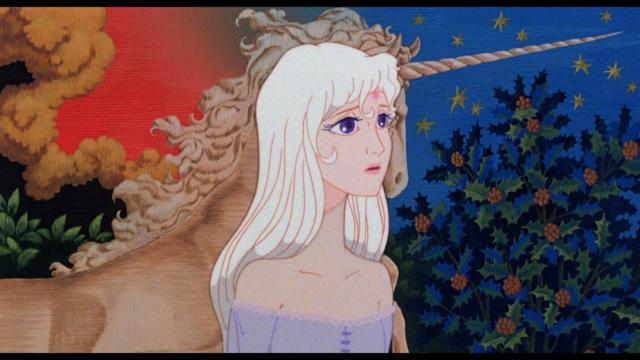 """Imagen de la película """"El último unicornio"""""""