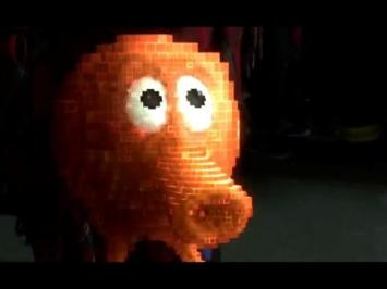 I am not joking: Q*Bert is literally the best part of this movie. It is too good, too pure.