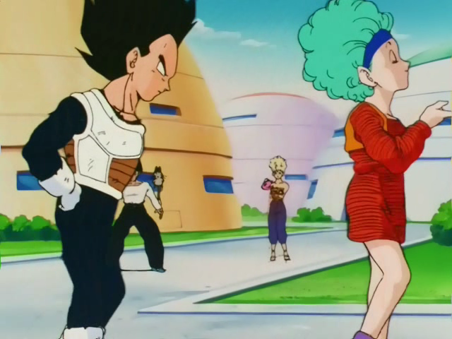 when does bulma meet vegeta