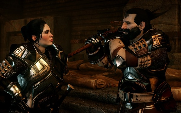 Valta (left) and Legionnaire Renn (right). All important dwarves continue to be white.