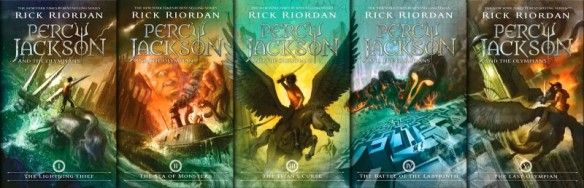 new percy jackson covers