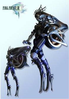 In Final Fantasy XIII Shiva is literally just one half of a motorcycle.