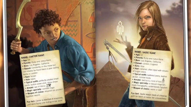 The Kane Chronicles: The Surprising Awesomeness of Rick Riordan's ...