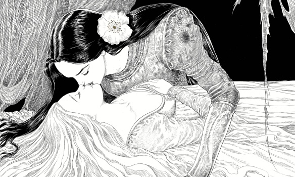 sleeper and the spindle kiss