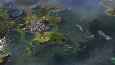 Civilization Rising Tide Ocean