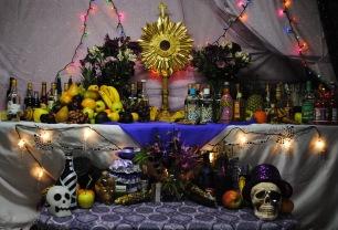 A Haitian Voudou Altar, via wikipedia