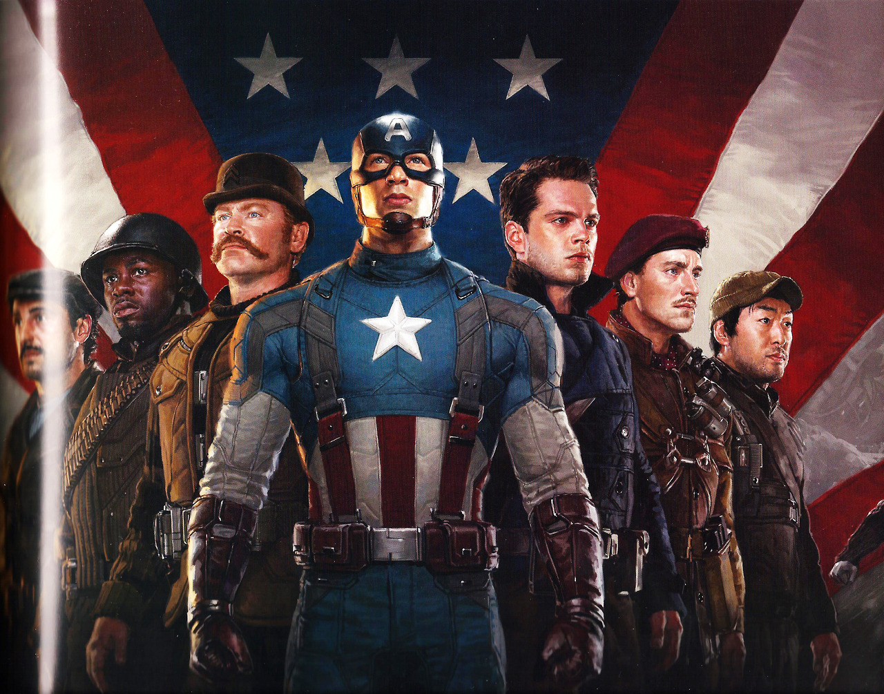 Marvel Wall Mural Fanfiction Fridays Howling Commandos Hq By Rageprufrock
