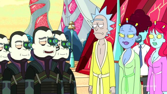 Rick, Unity, & Beta-Seven