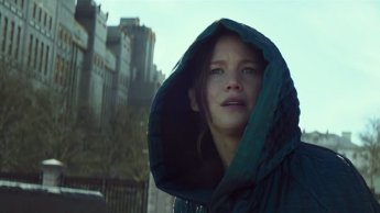 Mockingjay Katniss with Hood