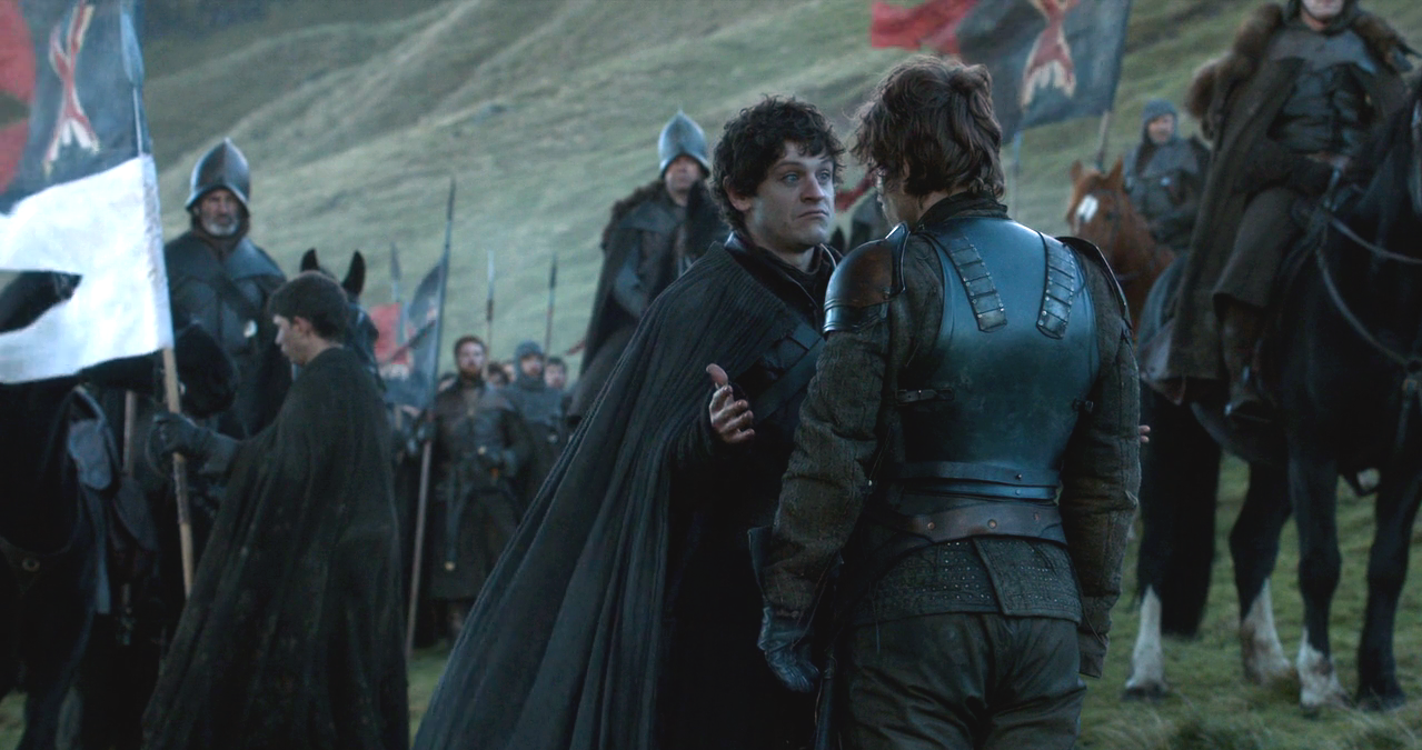 ramsay and theon meet