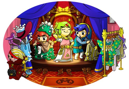 Triforce Heroes Costumes