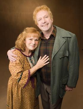 Harry Potter Arthur and Molly Weasley
