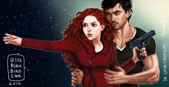 Also I'm a huge fan of the Scarlet/Wolf ship. (fanart via BlackBirdInk on DeviantArt)