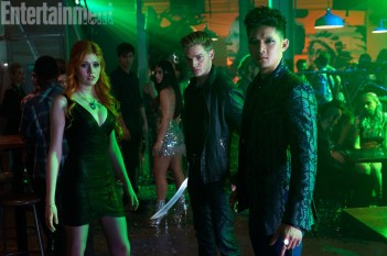 Shadowhunters at party
