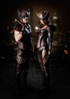 Legends of Tomorrow Hawkgirl and Hawkman