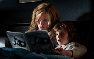 The Babadook Amelia and Sam reading