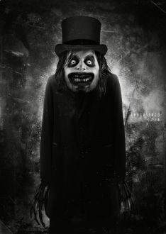 The Babadook monster