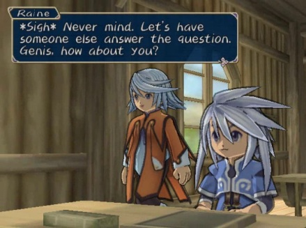 Tales of Symphonia Genis and Raine