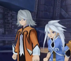 Tales of Symphonia Radiant Dawn Genis and Raine