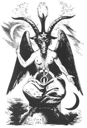Role model?? Actually read a little more about this famed image of Baphomet—very interesting