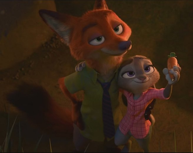 Image result for nick judy zootopia