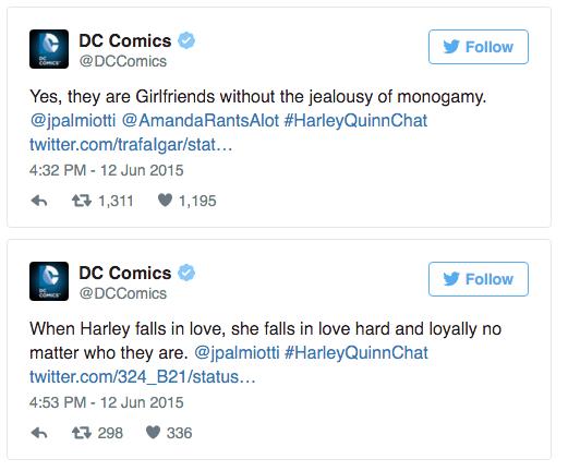 DC Comics tweets