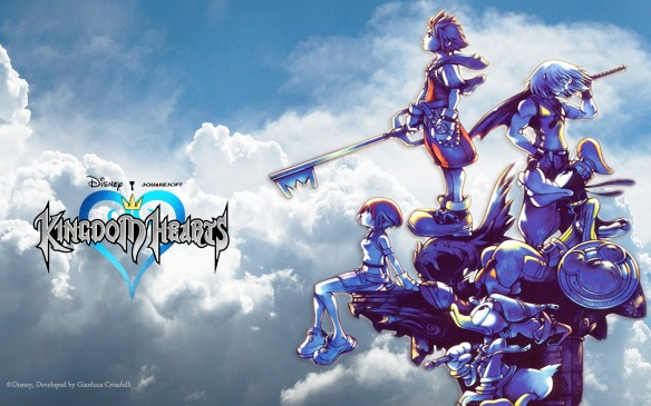 Kingdom Hearts I logo pic