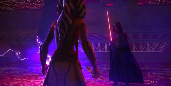 Star Wars Rebels Anakin and Ahsoka