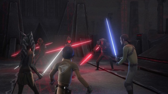Star Wars Rebels Giant Battle