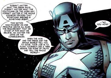 no you move captain america