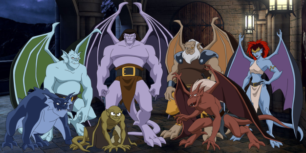 Gargoyles cartoon animated