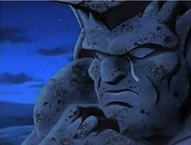 goliath gargoyles crying