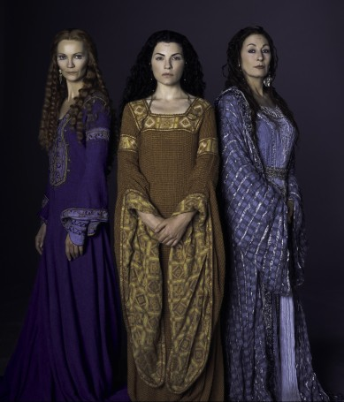 Morgaine, Viviane, & Morgause