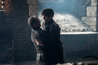 Game of Thrones Ramsay kills Bolton
