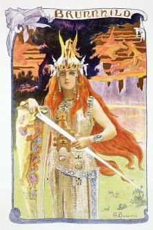 Postcard by Bussière