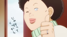 Ore Monogatari Yuriko thumbs up