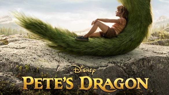 Petes Dragon Remake Poster
