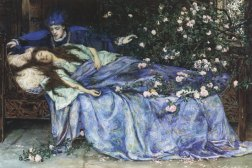 Sleeping Beauty by Henry Rheam, 1898