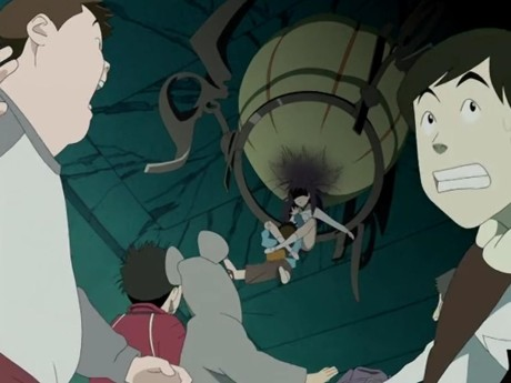 flcl-crotch-spider-attack