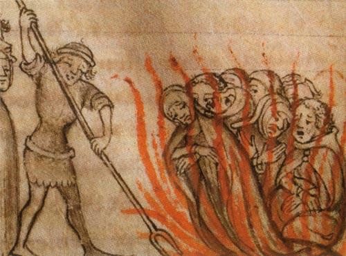 burning knights