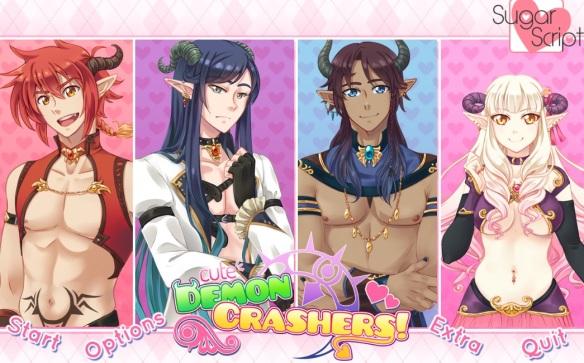 Cute Demon Crashers start menu