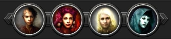 Torment - party icons